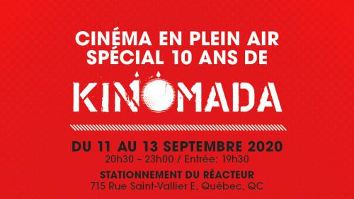KINOMADA fête ses 10 ans en plein air à Québec